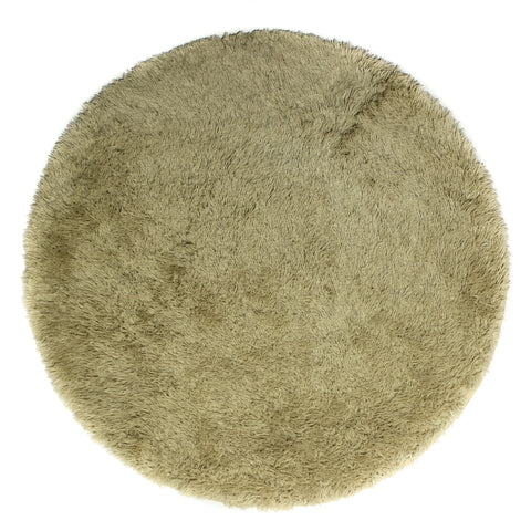 Rug Cloud9 Round Shaggy - Champagne 120 x 120