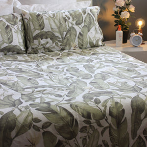 Duvet Cover Set - Fauna and Flora - Queen