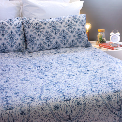 Duvet Cover Set - Heavenly Bliss - Queen