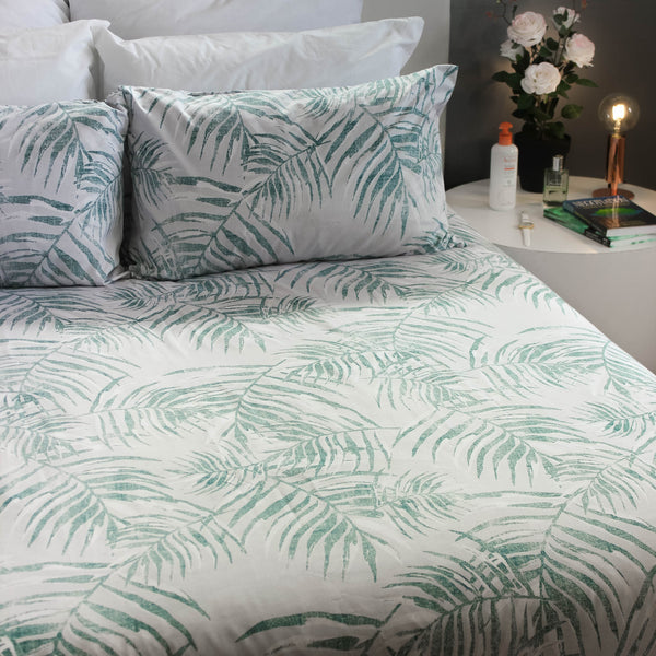 Duvet Cover Set - Greenfern - Queen