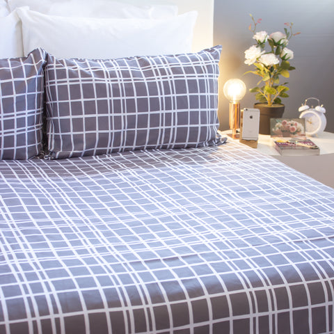 Duvet Cover Set - Madison - Queen