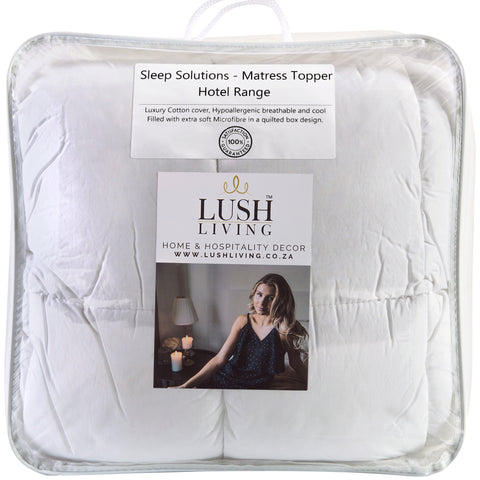 Mattress Topper - Sleep Solutions - Cotton - Hotel Range