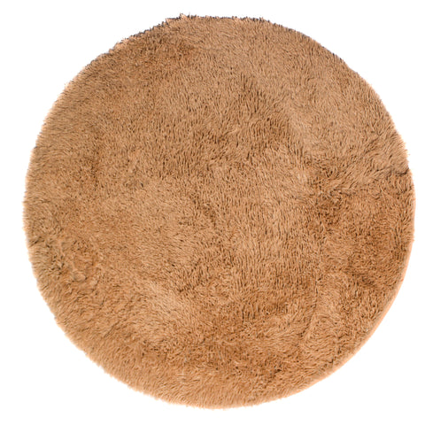 Rug Cloud9 Round Shaggy - Toasted Peach 120 x 120