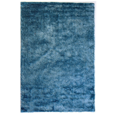 Rug Chicago Plain - Blue - 136 x 200