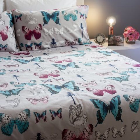 Duvet Cover Set - Monarch Colony - Queen