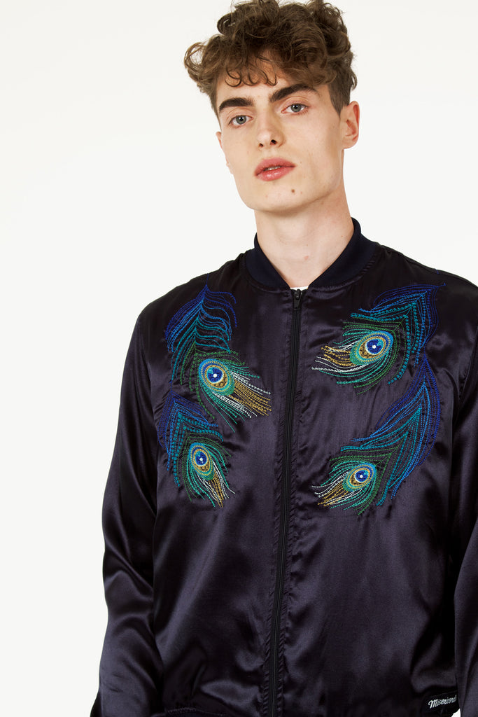 veste plume de paon collection Misericordia été 2020