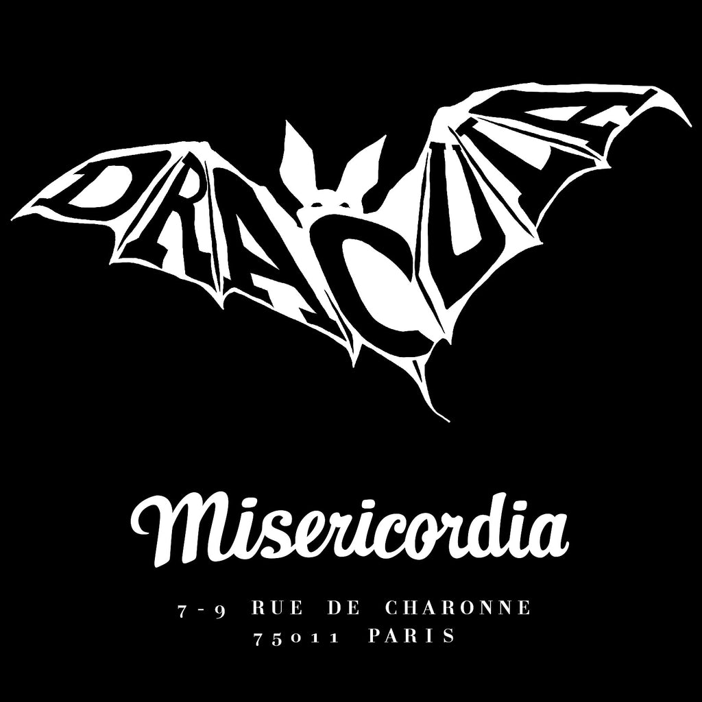 Dracula dessin T-shirt collection Misericordia sérigraphie pour t-shirt tendance