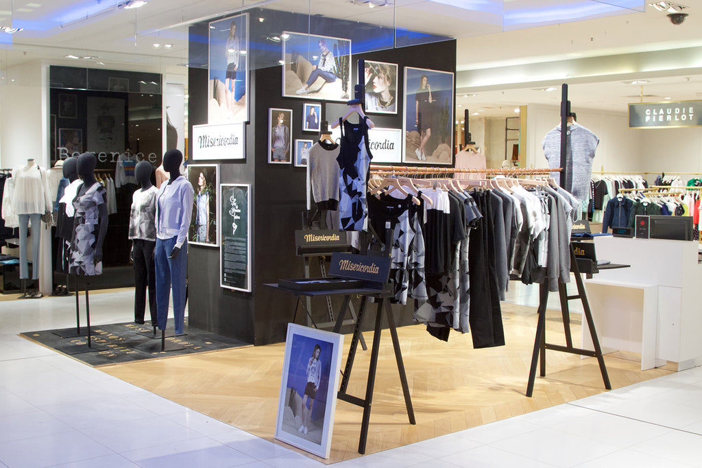 Pop up store Misericordia Galerie Lafayette