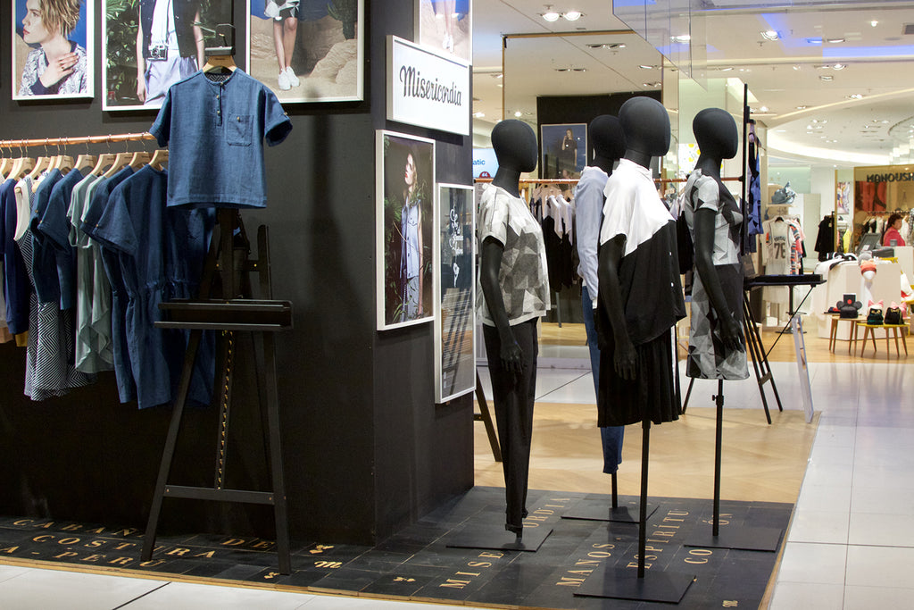 Pop up store Misericordia Galerie Lafayette Nouvelle collection