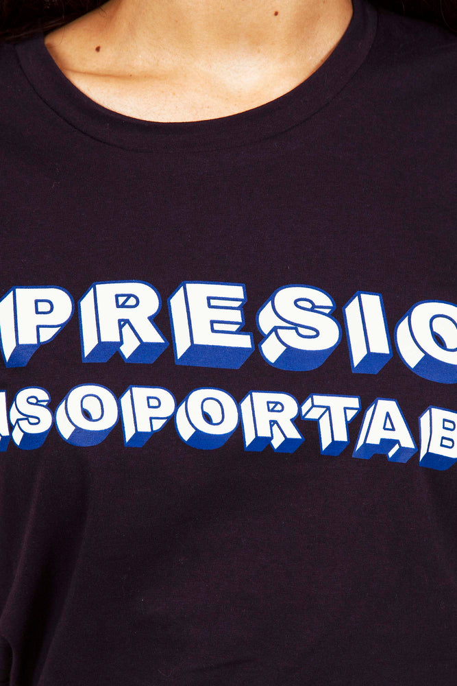 Tee Shirt Femme Imprimé Coton Oppression Insupportable | Misericordia