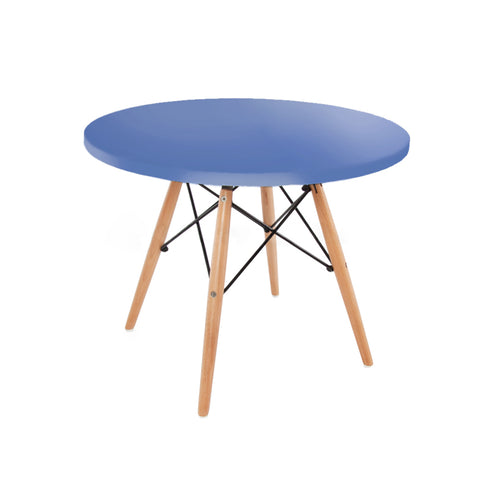 Childrens Charles Ray Eames Style Dowel Round Table