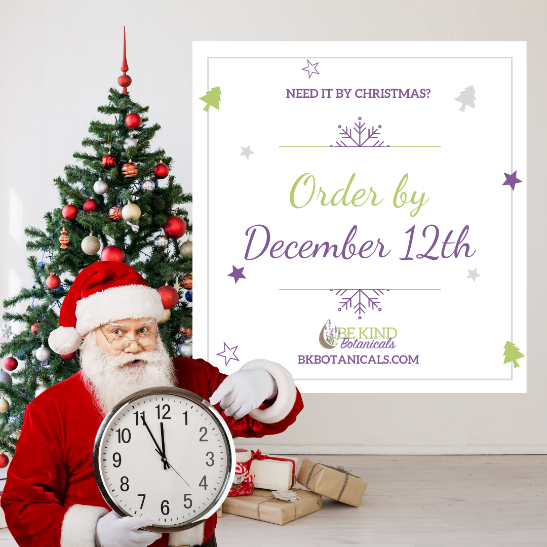 Holiday Shipping Deadlines for Essential Oil Users