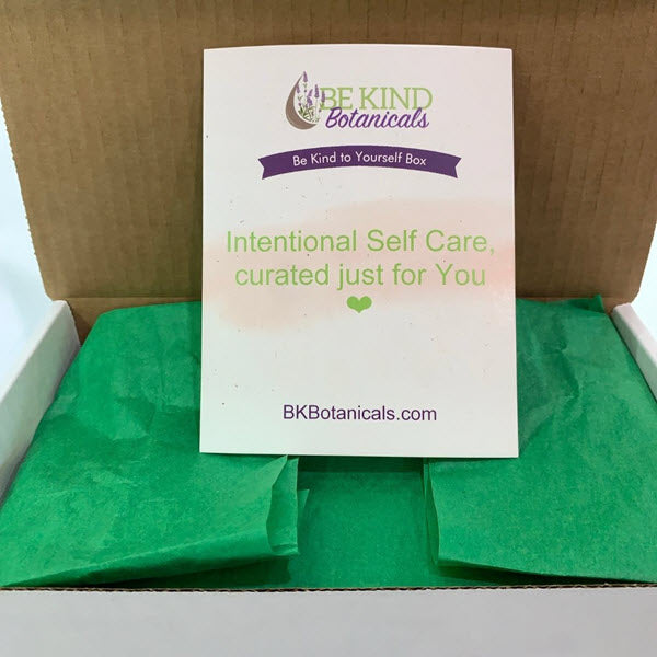 Unboxing the Be Kind to Yourself Box