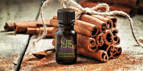 Everything festive with cinnamon essential oil