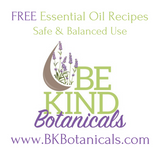 Free Essential Oil Recipes - Be Kind Botanicals