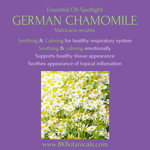 German Chamomile Essential Oil - Be Kind Botanicals
