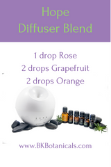 Hope Diffuser Blend - Be Kind Botanicals