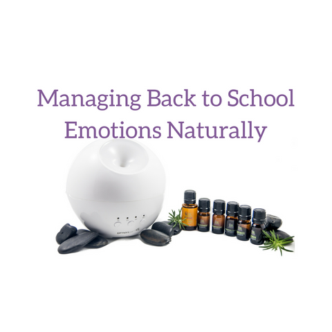 Managing Back to School Emotions Naturally - Be Kind Botanicals