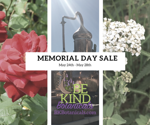 Be Kind Botanicals Essential Oil Sales