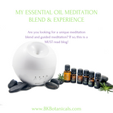 Meditation Essential Oils - Be Kind Botanicals