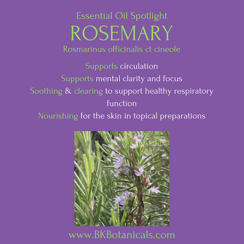 Rosemary Essential Oil - Be Kind Botanicals