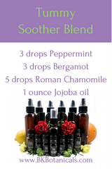 Essential Oil Tummy Soother Blend - Be Kind Botanicals