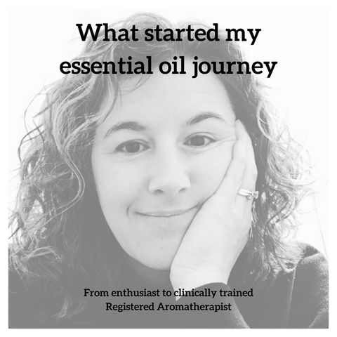 What Started My Essential Oil Journey