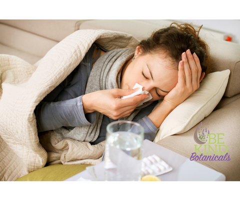 Flu and Essential Oils - Be Kind Botanicals