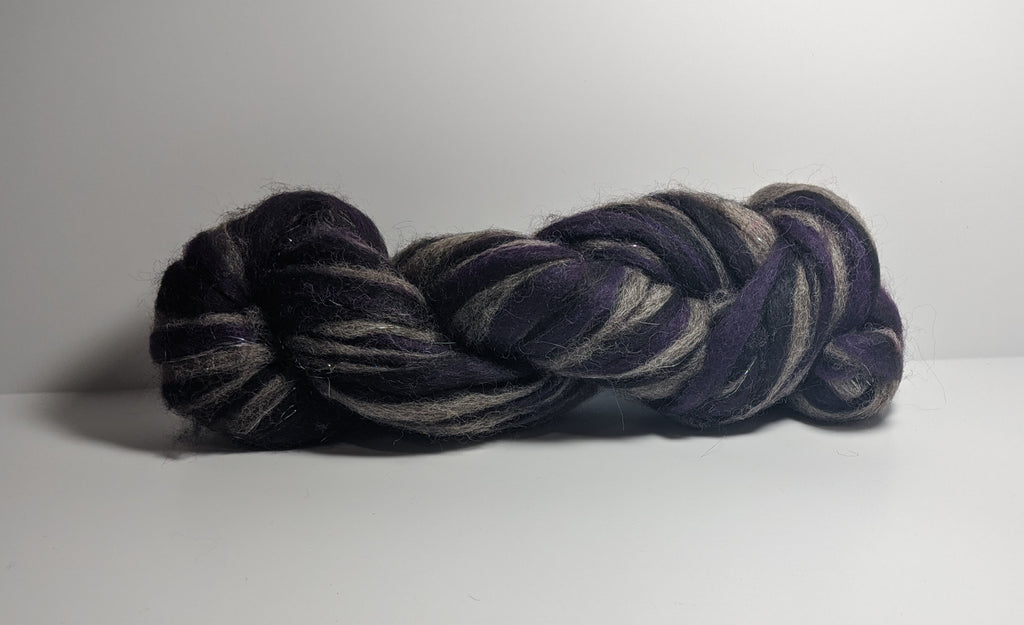 Purple Magic Roving