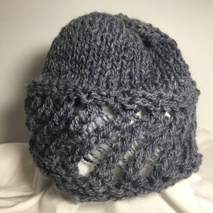 Diagonal Lace Hats