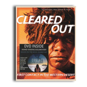 Cleared Out - Cleared Out book + Contact DVD