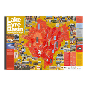 Lake Eyre Basin Poster -