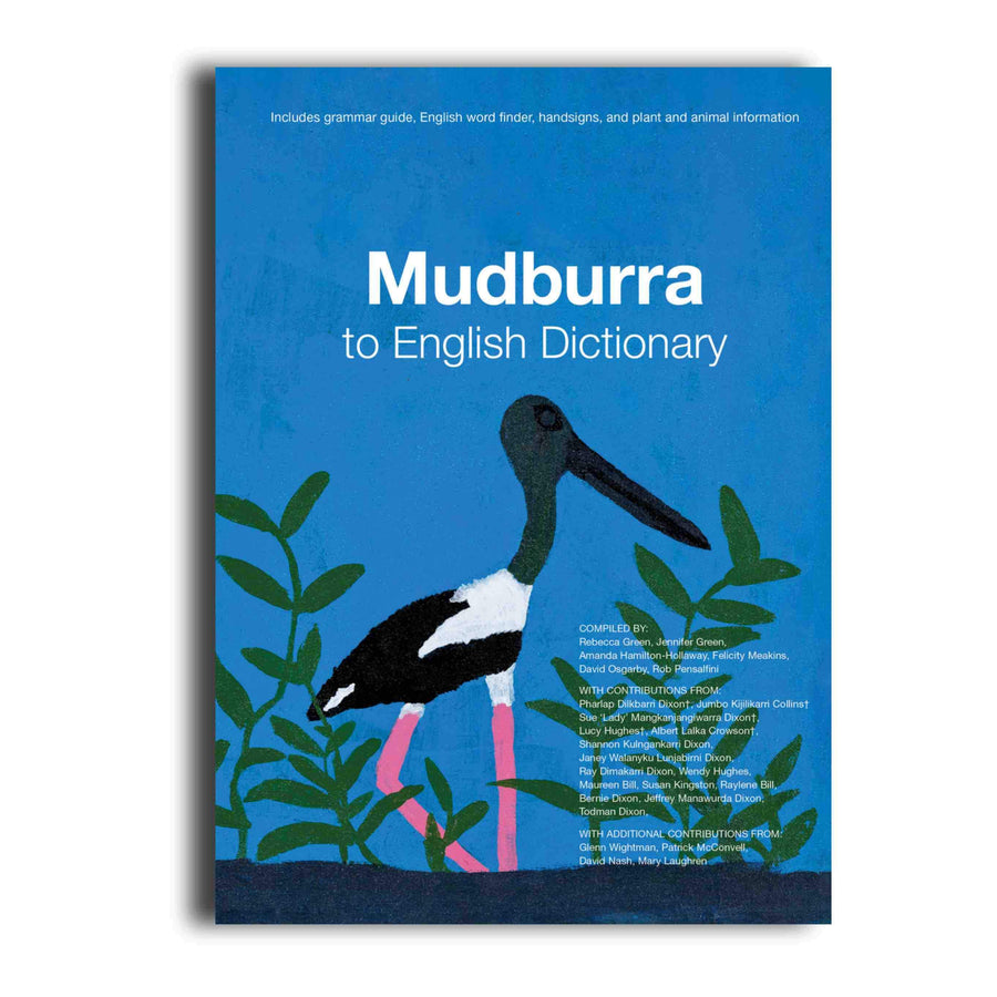 Mudburra to English Dictionary -