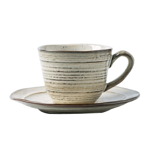 leia cup & saucer ceramic set - Good Joan Home