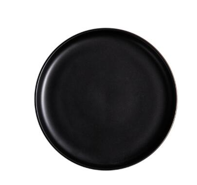 nina nordic style minimal ceramic plates - Good Joan Home