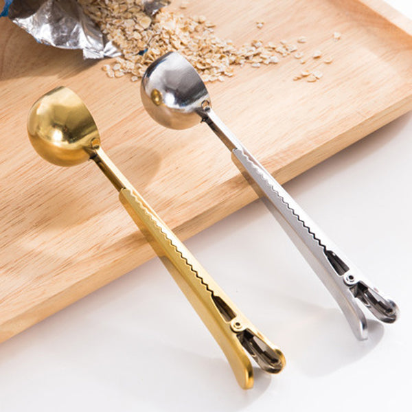 multifunctional sealing scoop spoon - Good Joan Home