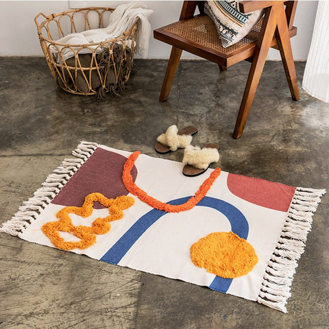 maria cotton modern Nordic rug - Good Joan Home