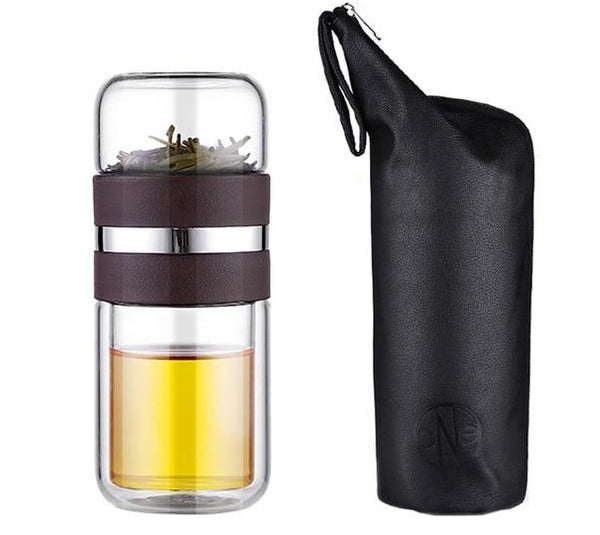 noah eco luxe portable tea infuser bottle - Good Joan Home