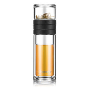 ava eco tea infuser water bottle - Good Joan Home