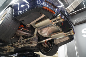 Titanium Exhaust Cata back Silencer