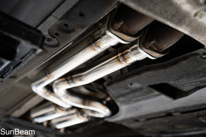 RACING FRONT PIPE for E46M3
