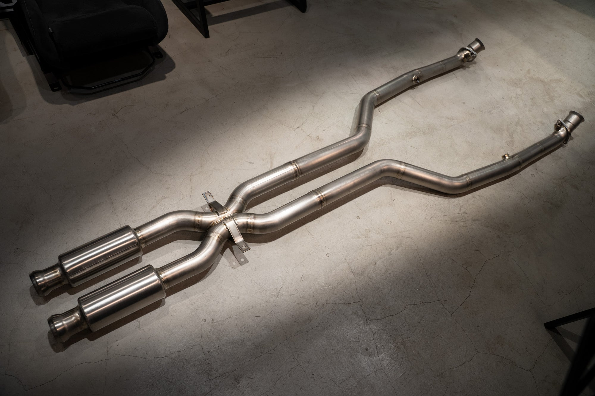 TITANIUM RACING FRONT PIPE