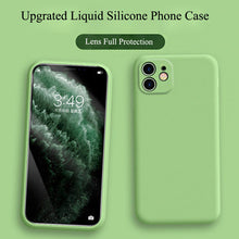 Load image into Gallery viewer, Soft Silicone iPhone Case