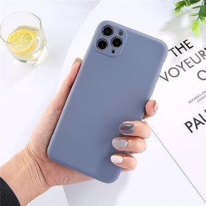 Soft Silicone iPhone Case