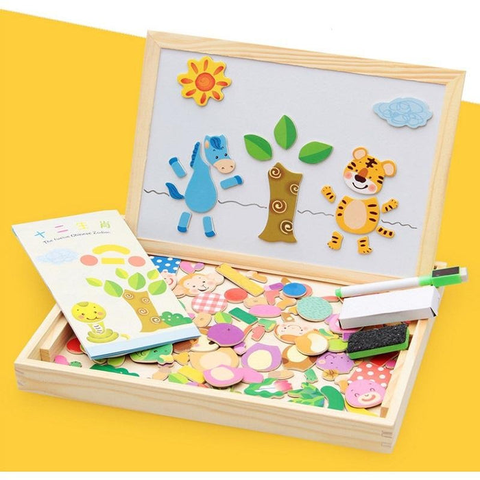 Educational Puzzle Set - Cascov