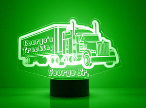 18 Wheeler LED Night Light