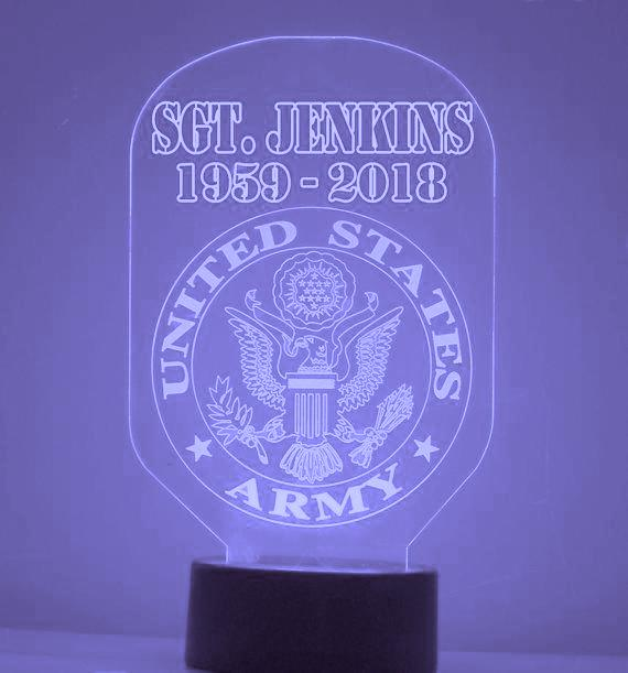 US Army LED Night Light