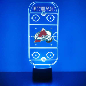 Colorado Avalanche Hockey Rink LED Sports Sign