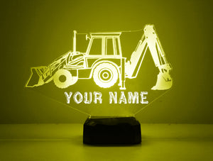 Backhoe LED Night Light