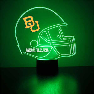 Baylor Bears Football LED Sports Sign